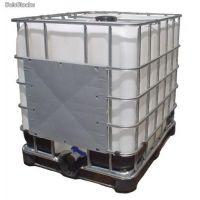 Pallet para container de 1000 litros  Pallet para container de 1000 litros específico para o armazenamento e manuseio de recipientes contendo líquidos inflamáveis e combustíveis. É uma estrutura em aço carbono totalmente soldada e com grades removíveis.