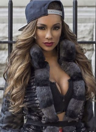 Erica Mena- she could be crazy at times but she's a fabulous model.