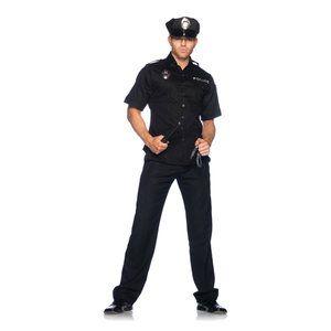 Strenge Agent: Met dit uitdagende politie kostuum voor heren ben jij de baas over je geliefde tijdens een rollenspel! Want daar is dit…