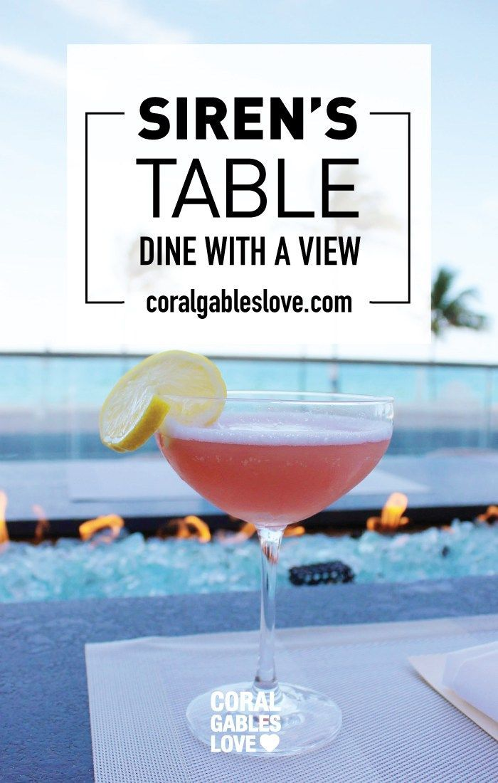 For A Spectacular Date Night With A View Visit Siren S