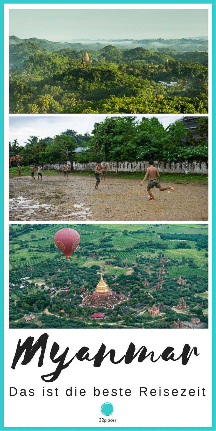Die beste Reisezeit für Myanmar - In unserem Artikel zeigen wir dir, welche Reisezeit für Myanmar die beste ist.