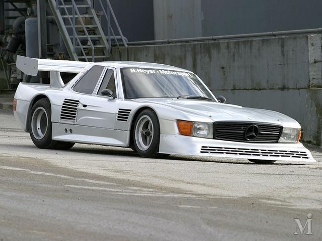 1981 Mercedes 500 SL Hans Heyer