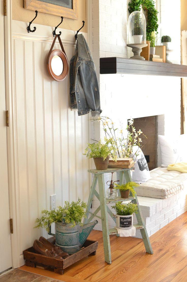 A Simple Vintage Spring Entryway 489 best