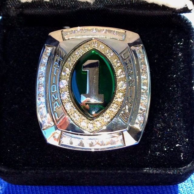 Trinity High School in Louisville,Ky 2011 National Championship Ring..