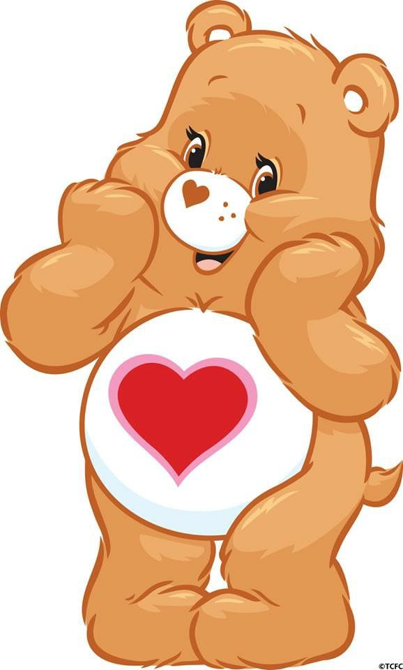 Tenderheart...... My special Care Bear.