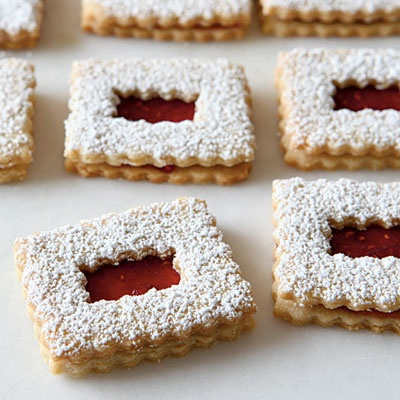 Raspberry- Raspberry Linzer Cookies Recipes