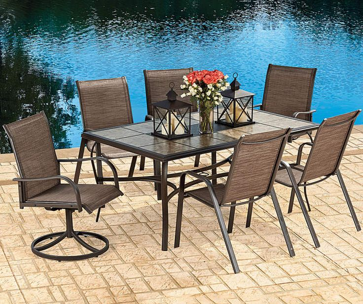 Big Lots Dining Set: Buy A Wilson & Fisher Sanibel Patio Dining Collection At