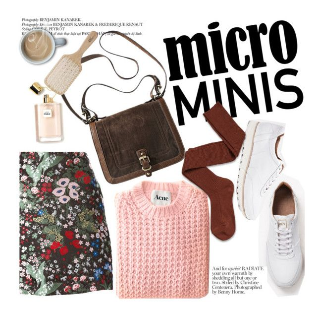 """""""Micro minis"""" by punnky ❤ liked on Polyvore featuring Valentino, Socka and Philip Kingsley"""