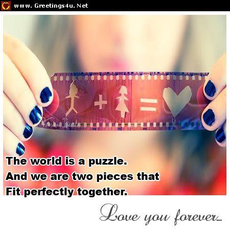 Karena kau dan aku satu bagian yang sama www.vemale.com
