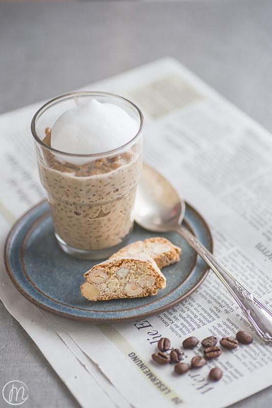 Dieser Mocca-Milchreis ist das perfekte Dessert für alle Milchreis- und Kaffeeliebhaber. I love it!