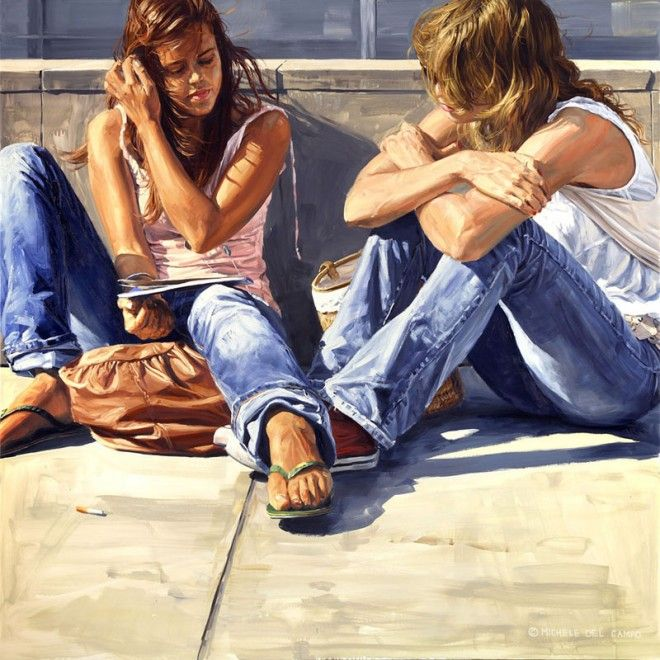 Awesome Urban Youth Paintings by Michele Del Campo
