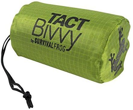 Amazon.com : TACT Bivvy Emergency Survival Sleeping Bag - Lightweight Waterproof Bivy Sack Emergency Blanket with HeatEcho Thermal Blanket Material & Nylon Bag Use in Survival Kit Camping Gear & Survival Gear : Sports & Outdoors