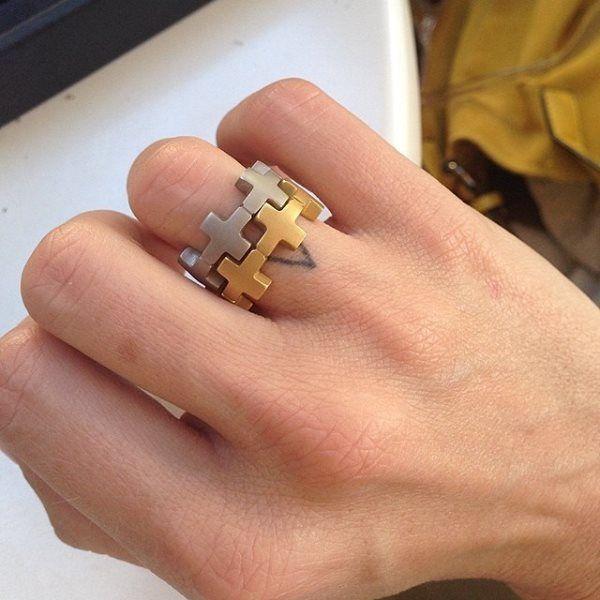 Amberly Cross Rings
