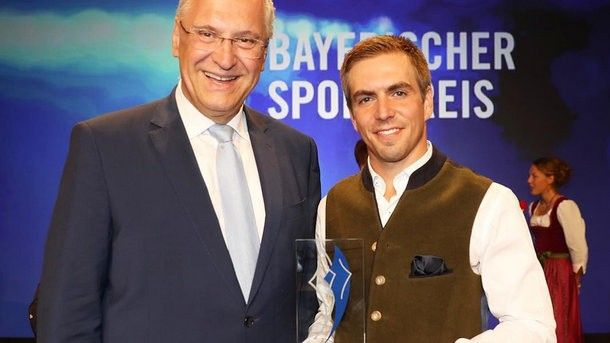 In Germany Philipp Lahm who has finished career is recognized as the football player of year
