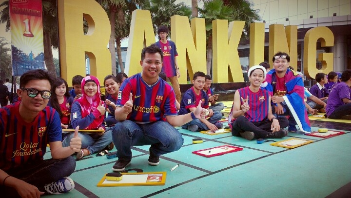 @Indobarcelona on Ranking 1 Trans TV