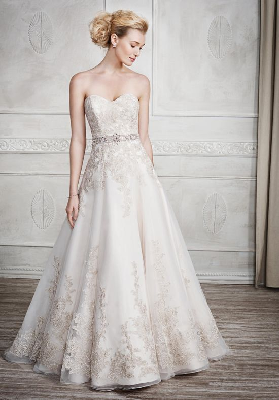 Kenneth Winston wedding dress | Style: 1669 | http://trib.al/AwrenwV