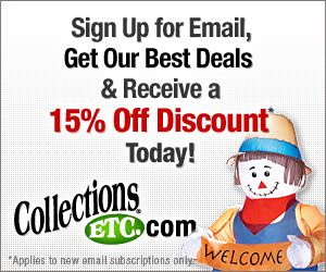 Sign Up For Our Email & Get 15% Instant Savings!