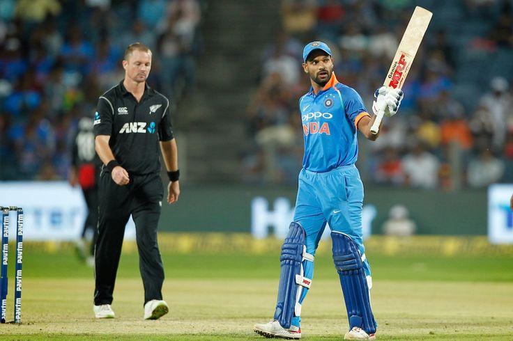 Shikhar Dhawan scored 50 in IND Vs NZ 2nd ODI match.
