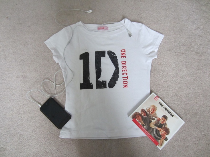 DIY One Direction T-shirt