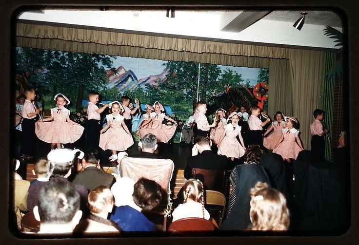 1950s Children's Pageant Stage Show Pretty Girls Fashion Cute Boys Original Sli | eBay