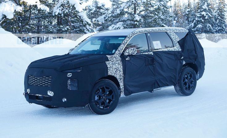 All-New Three-Row Hyundai Spied, Part of SUV Tsunami – Future Cars