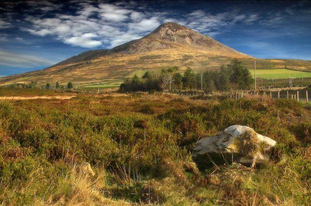 Wicklow Mountains, le montagne d'Irlanda