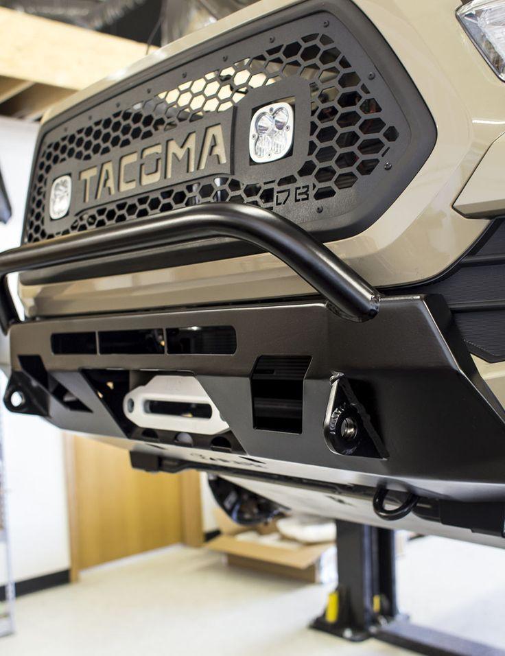 c4 fabrication 3rd gen tacoma lo pro bumper 4