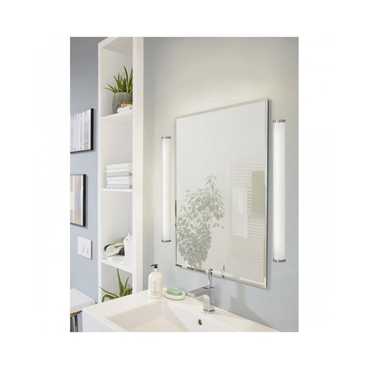 Photo Image Lighting Install this Divine fixture over your mirror or vanity to illuminate your bathroom in