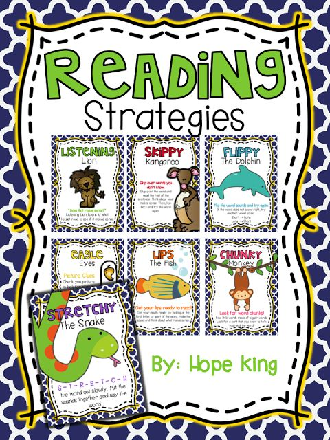 FREE Reading Strategies! Posters to help students decode unfamiliar words!  I would tweak the theme and make sure that Skippy kangaroo was used last and appropriately