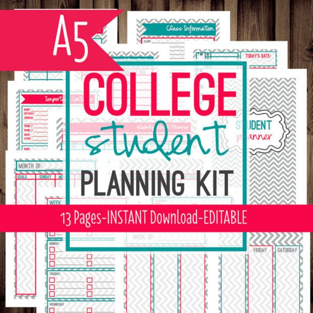 Best 25+ Student planner printable ideas on Pinterest Student - printable day planner