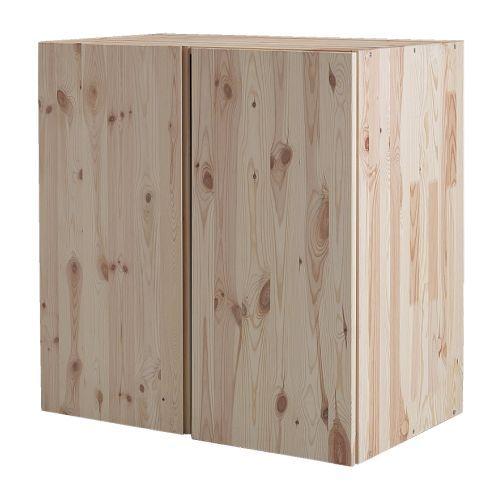 IVAR Skåp IKEA Obehandlat massivt trä är ett slitstarkt naturmaterial som blir ännu tåligare och mer lättskött om du oljar eller vaxar ytan.