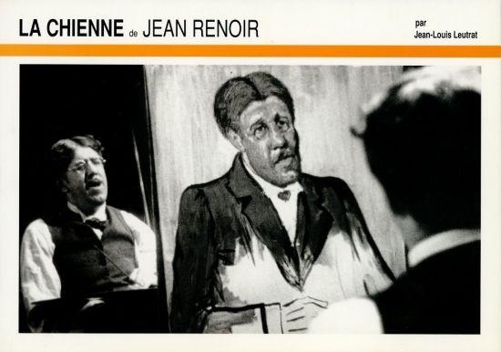 La Chienne 牝犬」(1931) Jean Renoir ジャン・ルノワール #ミシェル ...