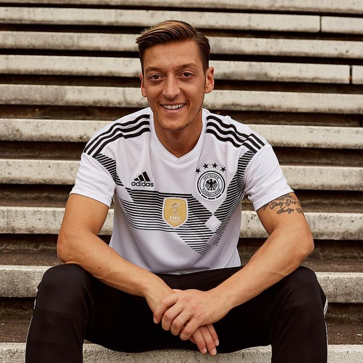 "149.3k Likes, 249 Comments - adidas Football (Soccer) (@adidasfootball) on Instagram: ""Die Mannschaft. 🇩🇪 @m10_official introduces the @dfb_team 2018 @fifaworldcup Home jersey.…"""