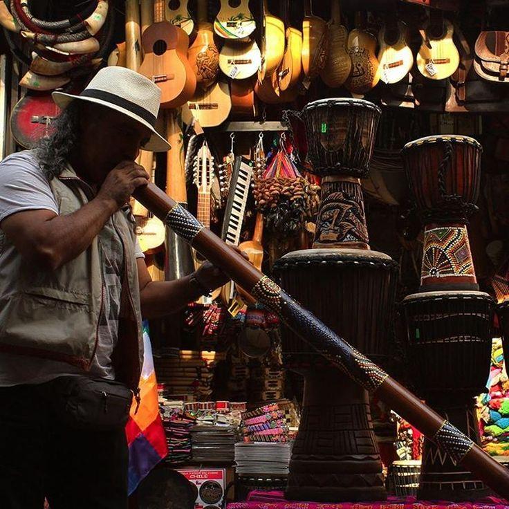 Instrumentos musicales en el #centroartesanalsantalucia