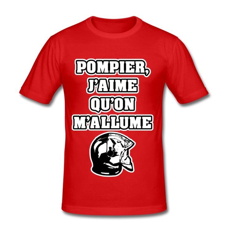 POMPIER, J'AIME QU'ON M'ALLUME , T-shirt à s'offrir ici : https://shop.spreadshirt.fr/jeux-de-mots-francois-ville/les+t-shirts+pour+pompiers?q=T516877  #pompiers #leshommesdufeu #tshirt #sirène #alarme #feu #flammes #incendie #foyer #échelle #lance #rampe #sapeur #casque #caserne #secours #ambulancier #brancardier #volontaire #bénévole #braise #bouche #JEUXDEMOTS #FRANCOISVILLE #HUMOUR #DRÔLE #CITATION