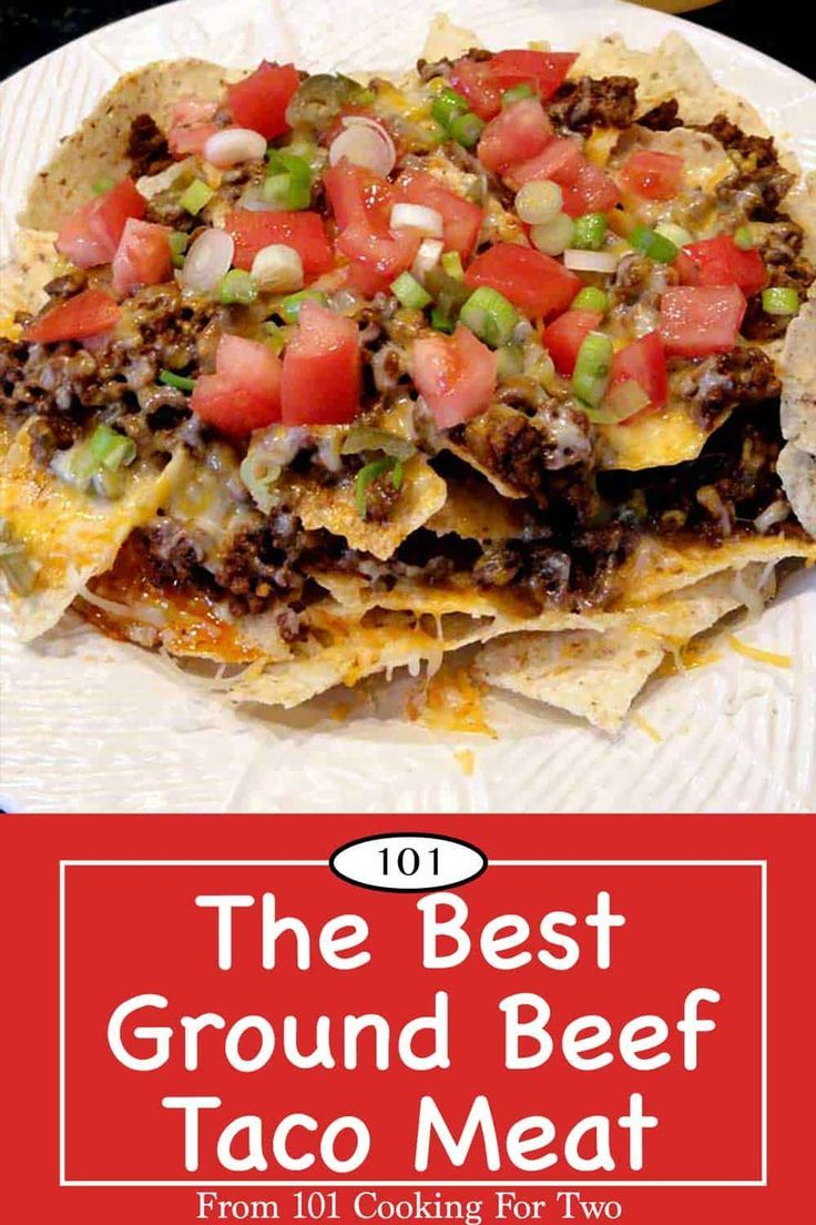 The Best Ground Beef Taco Meat In Less Than 25 Minutes Recipe In 2020 Taco Meat Tacos Beef Spicy Taco Meat