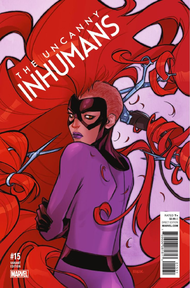 Story: Charles Soule Art: Aaron Kim Jacinto Cover: Jeff Dekal Publisher: Marvel Publication Date: November 16th, 2016 Price: $3.99  In the depths of Black Bolt's Quiet Room, a plan is being hatched that will decide the future of Inhumanity. The daughters of the fallen Inhuman Auran are plotting a desperate attempt to resurrect her, …