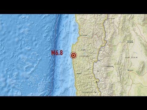 Un sismo de magnitud 6,8 sacude el centro de Chile