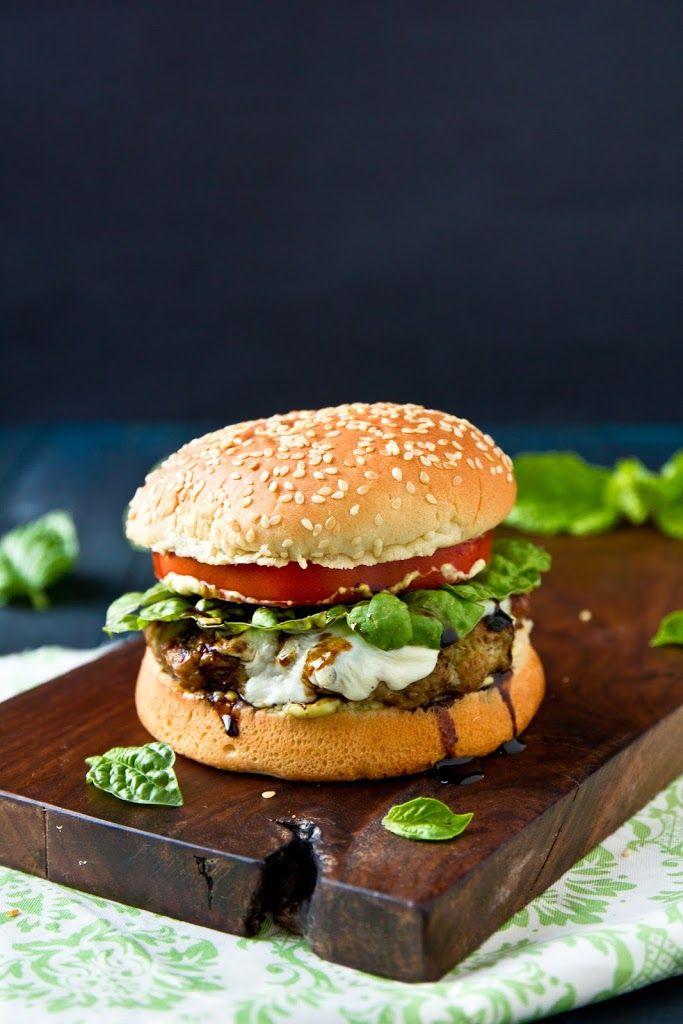The Italian Burger Recipe Yummly Recipe Yummy Foodies Italian Burger Burger