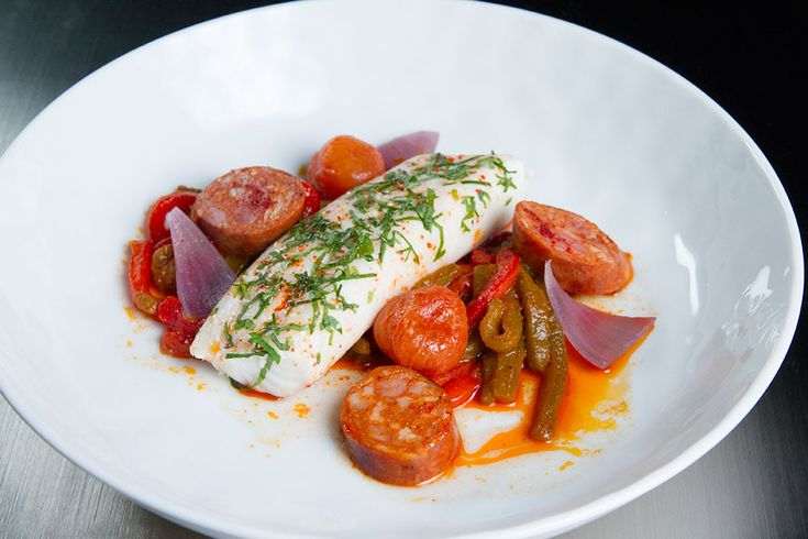 Andrea Nicholson's version of guest judge Daniel Boulud's Cod Basquaise earned kudos from the master himself. Here's how you can create this elegant and oh-so-easy dish at home.