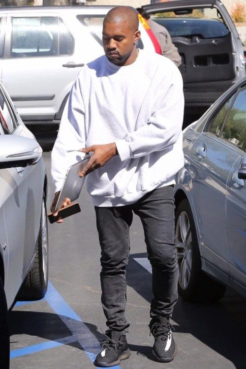Best 25+ Kanye west new shoes ideas on Pinterest | Kim kardashian,  Kardashian style and Jeans and hoodie