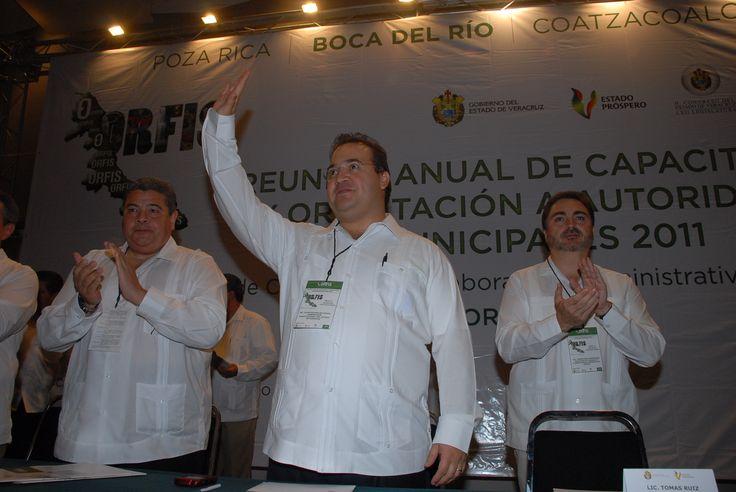 El gobernador Javier Duarte de Ochoa asistió a la Reunión Anual de Capacitación y Orientación a Autoridades Municipales del Orfis.
