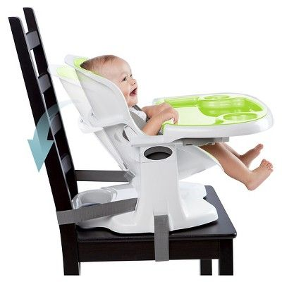 Ingenuity SmartClean ChairMate Chair Top High Chair   Lime (Green)
