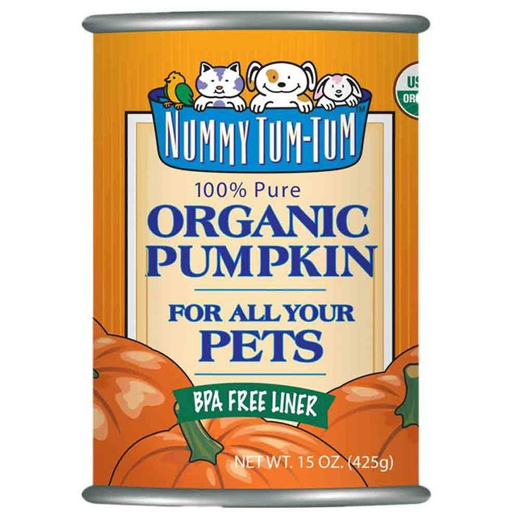 Description - Made in the USA - Made from 100% pumpkin - High in Vitamin A and fiber - Delicious supplement When you open a Nummy Tum Tum Pumpkin Canned Dog & Cat Food you would think you could pour i
