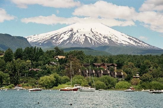 Pucon Mountains, Lake, Hot springs, and just generally beautiful town