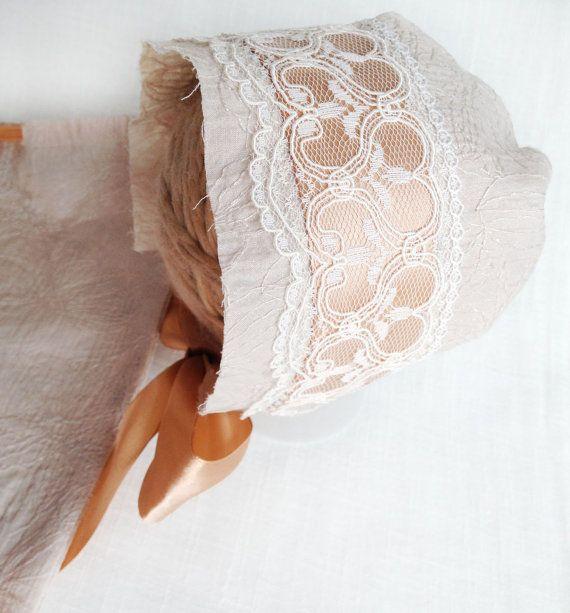 Luxury Newborn Bonnet  Luxury Photo Prop Girl by SquishyBabyStuff, $22.50
