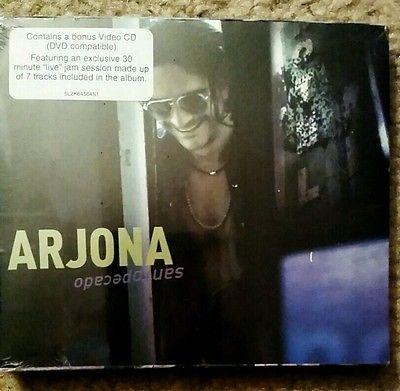 Santo Pecado by Ricardo Arjona (CD, Nov-2002) + BONUS VIDEO CD NEW. FREE SHIPPIN