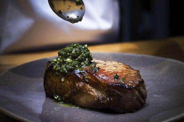 Chimichurri steak at Peddlars & Co.