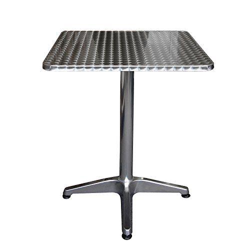 Cute Aluminium Bistrotisch xxcm Klapptisch Beistelltisch Gartentisch Balkontisch Frhstckstisch