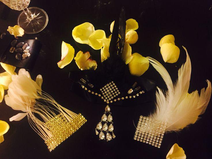 Handmade 20's style headpieces